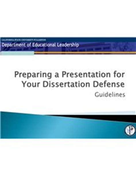 Phd thesis defense powerpoint presentation